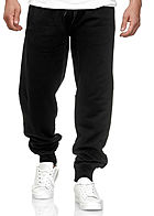Seventyseven Lifestyle TB Herren Straight Fit Sweatpants 4-Pockets schwarz