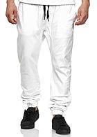 Southpole TB Herren Stretch Jogging Hose weiss