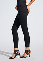 ONLY Damen NOOS Ankle Skinny Jeans Hose 5-Pockets Regular Waist schwarz denim