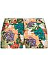 Eight2Nine Damen Sommer Short Hawaii Muster 5-Pocket Style by Sitch&Soul SALE orange lila
