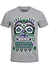 Jack and Jones T-Shirt PHARELL CREW NECK 12095257 Pharell Williams hell grau melange