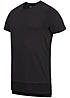 Jack and Jones T-Shirt TONY CREW NECK 12092956 RV an den Seiten schwarz
