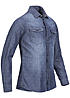 Jack and Jones Hemd ORKICK 12093789 2 Taschen Destroy Look Slim Fit light blue dn