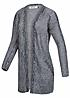 ONLY Damen Strick Cardigan GISELLE 15100931 2 Taschen gestreift cloud dancer wh navy