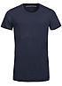 Jack and Jones Long T-Shirt WEDNESDAY CREW NECK 12099163 Rollkante navy blazer