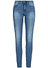 ONLY Damen Jeans NOOS 5-Pocket Style Regular Skinny medium blue denim