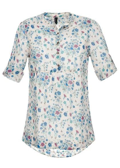 Vero Moda Tulle 3/4 Tunic Kleid, 10074240, latte Vero Moda Kleider günstig