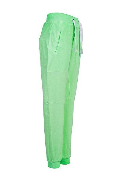 VSCT Clubwear Jogginghose Breite Kordel und Neon Look 5640943 neon apple grün