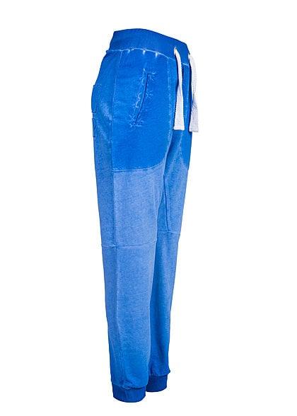 VSCT Clubwear Jogginghose Breite Kordel und Neon Look 5640943 neon blau