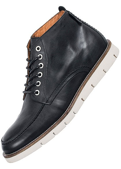 Jack and Jones Schuhe KINGSTON LEATHER 12097675 Schnürboot schwarz