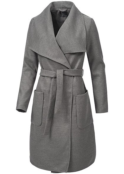 Damen Harris Wharf London Mäntel Trenchcoat Graublau Qualitätsgarantie. Damen Freie Komfort.