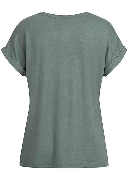 ONLY Damen T-Shirt NOOS balsam grün