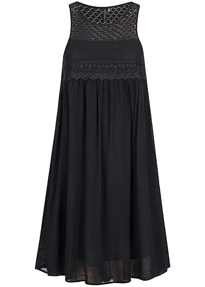 Midi kleider in schwarz