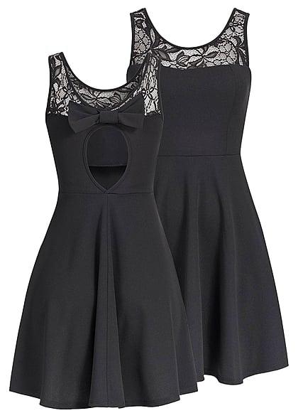 Schwarzes kleid ruckenausschnitt