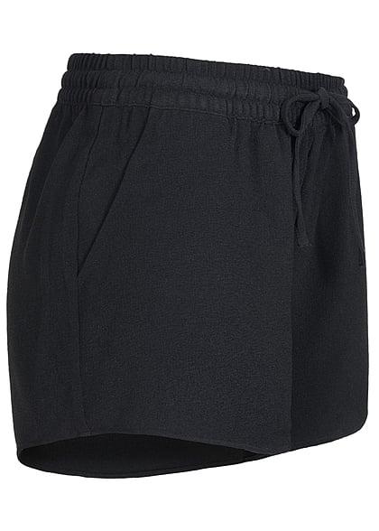 ONLY Damen NOOS Shorts 2-Pockets Tunnelzug schwarz