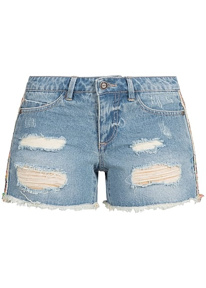 angemessener Preis kosten charm High Fashion jeans fransen