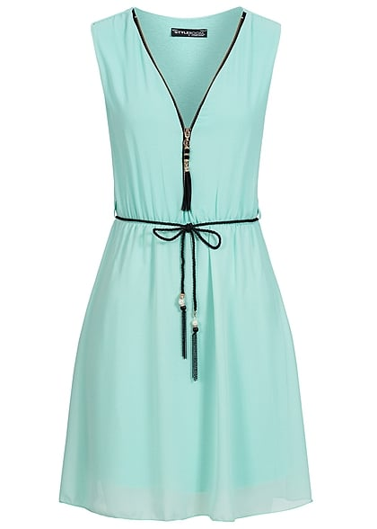 Kleid hell grun