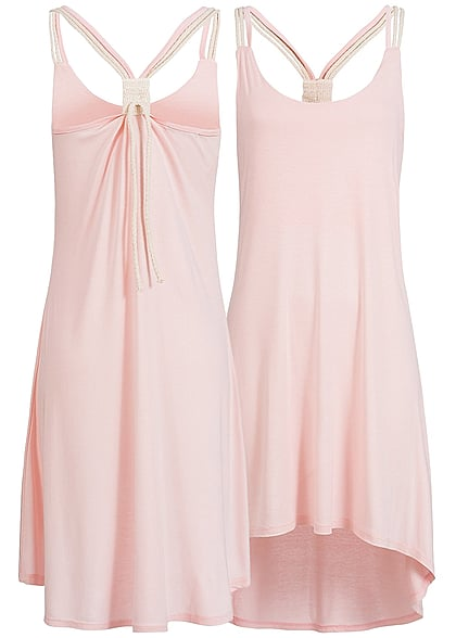 Styleboom Fashion Damen Kleid rosa