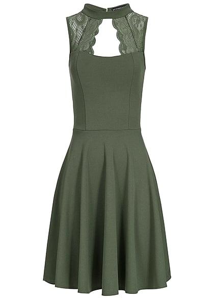 Kleid glitzer grun