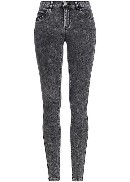 Jeans hose damen grau
