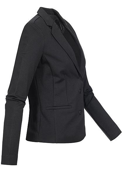 ONLY Damen NOOS Poptrash Blazer 2 Deko Taschen Schulterpolster schwarz