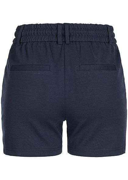 ONLY Damen NOOS Poptrash Shorts 2-Pockets Tunnelzug night sky navy blau
