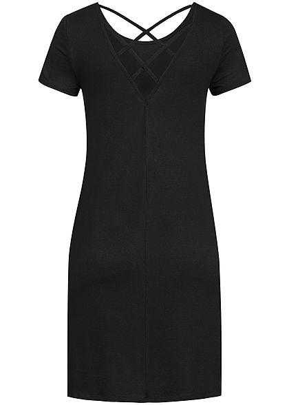 ONLY Damen Mini Dress Back Side String NOOS schwarz