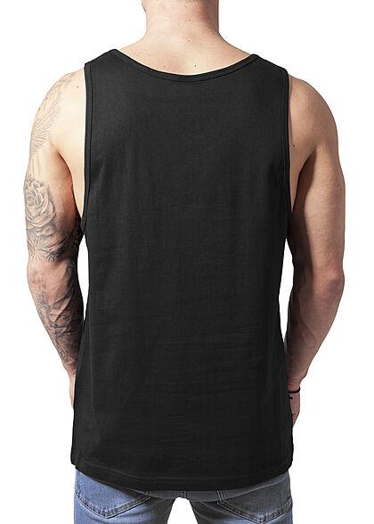 Urban Classics Herren Tank Top Shirt Ärmellos weiter Schnitt schwarz
