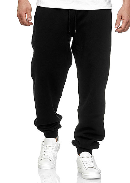 Seventyseven LifestyleTB Men Basic Jogginghose Sweatpant schwarz