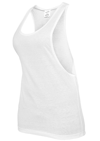 Seventyseven LifestyleTB Damen Longform Tank Top weiss