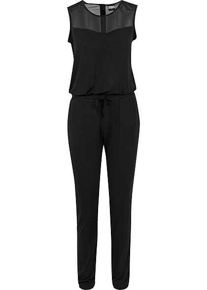 53f8a6eb94001b Seventyseven Lifestyle Damen Jumpsuit Spitze 2 Taschen ...