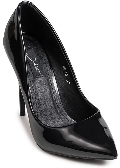 Seventyseven Lifestyle Schuh Damen Pumps Absatz 11cm schwarz