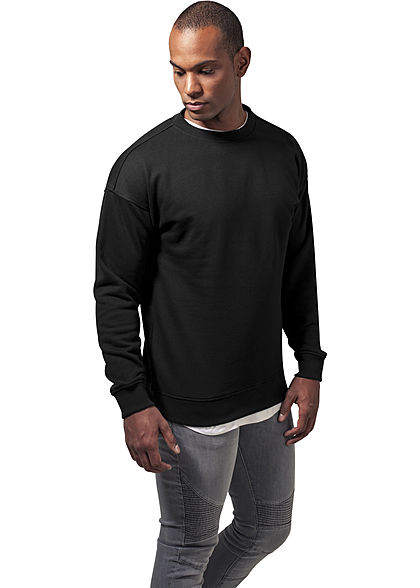 Seventyseven LifestyleTB Men Basic Sweater Rundhals schwarz