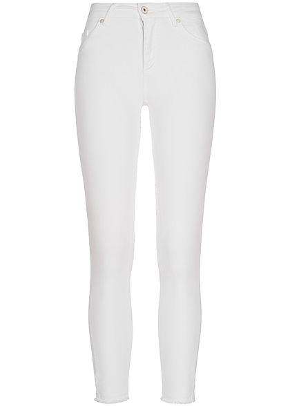 ONLY Damen Ankle Skinny Jeans NOOS weiss denim