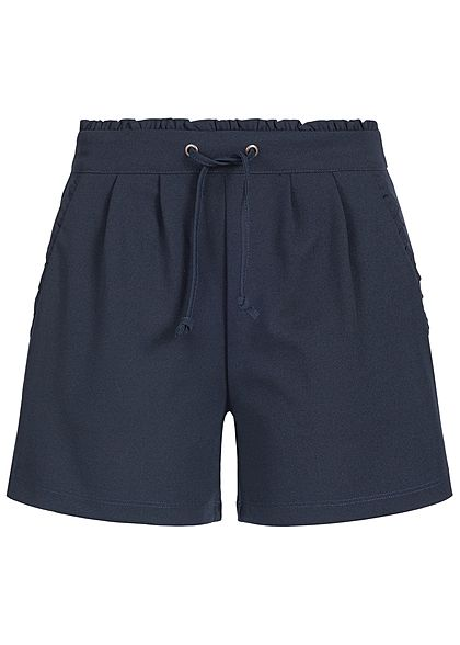 JDY by ONLY Damen Jersey Shorts 2-Pockets NOOS sky captain blau