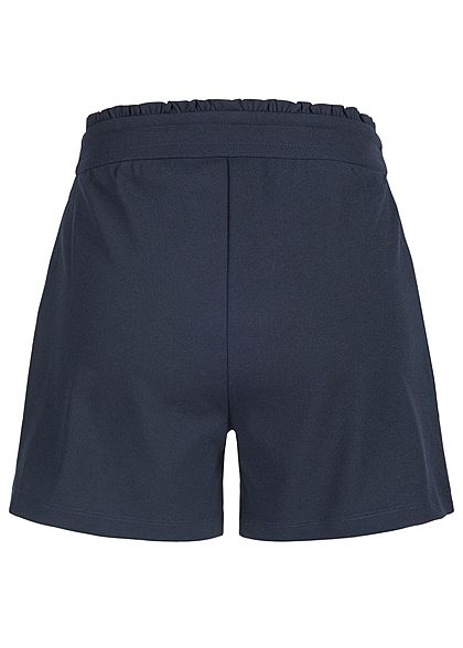 JDY by ONLY Damen Jersey Shorts 2-Pockets NOOS sky captain blau