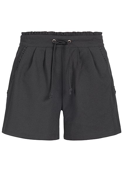 JDY by ONLY Damen Jersey Shorts 2-Pockets NOOS schwarz