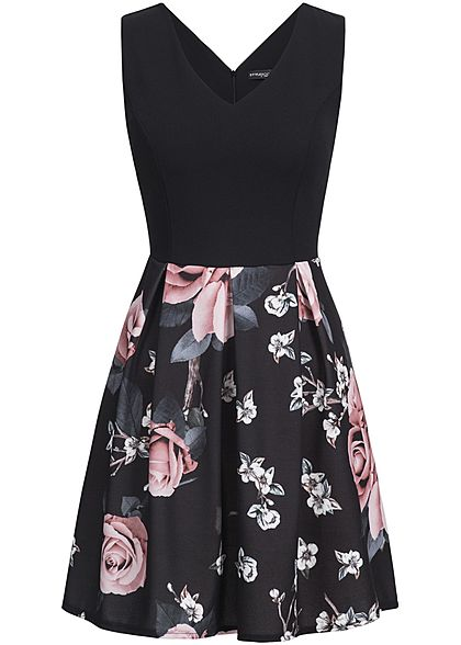 Kleid mit blumen damen