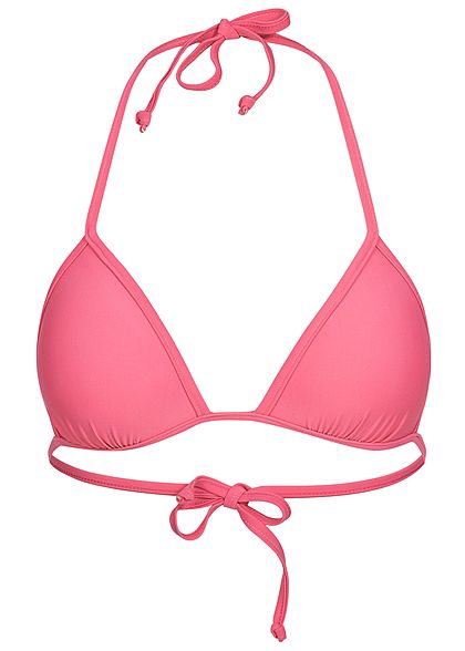 new style 6edd6 3fb45 Hailys Damen Triangel-Bikini pink
