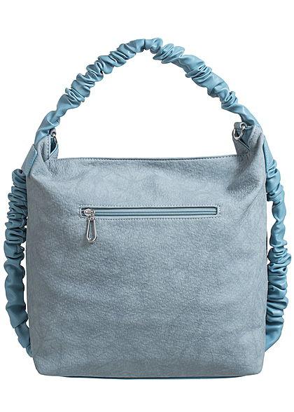 Styleboom Fashion Damen Handtasche Breite: 41cm Höhe: 32cm hell blau