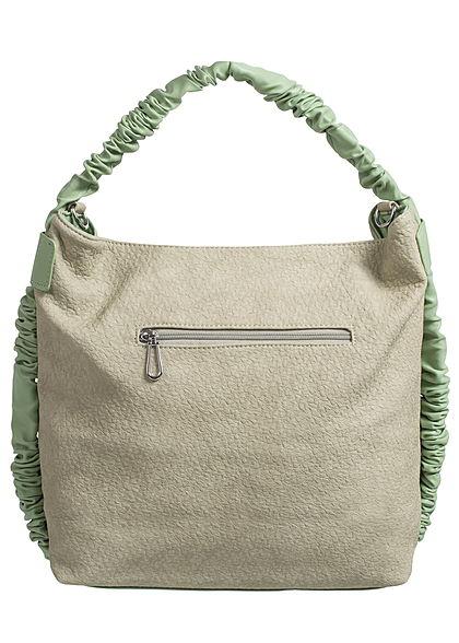 Styleboom Fashion Damen Handtasche Breite: 41cm Höhe: 32cm hell grün
