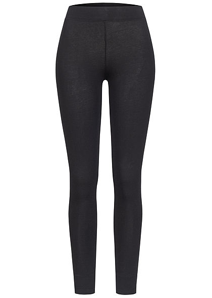 Urban Classics Damen Basic Leggings schwarz