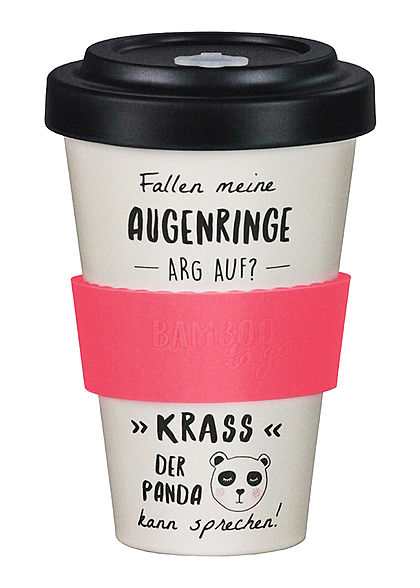 Seventyseven Lifestyle Bamboo Cup Coffee To Go Becher Augenringe