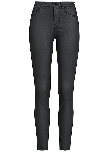 JDY by ONLY Skinny Jeans Hose 5-Pockets Regular Waist NOOS schwarz