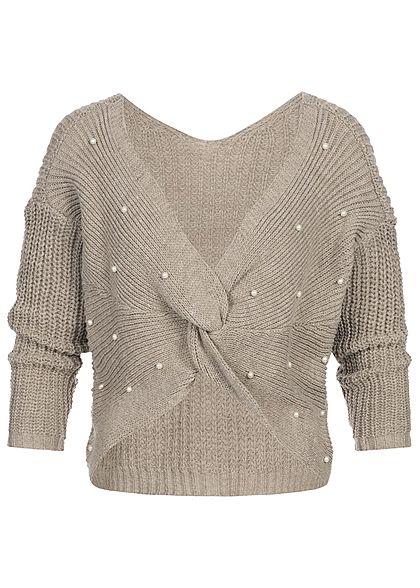 Styleboom Fashion Damen Denim Bandeau Jumpsuit 2 Taschen inkl ... e276781b04