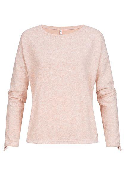 quality design 7ef0d 51305 Seventyseven Lifestyle Damen Pullover Sweater rosa melange