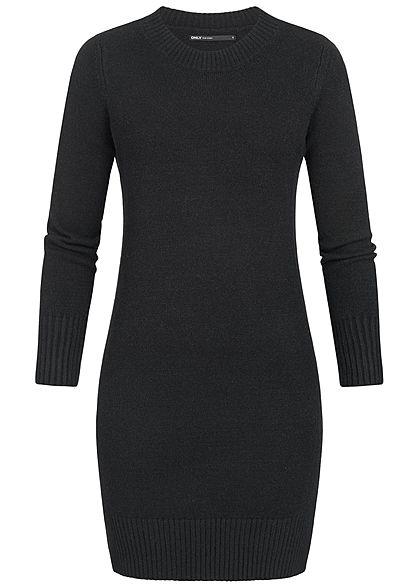 f1d288344b92 ONLY Damen Pullover Kleid schwarz - 77onlineshop