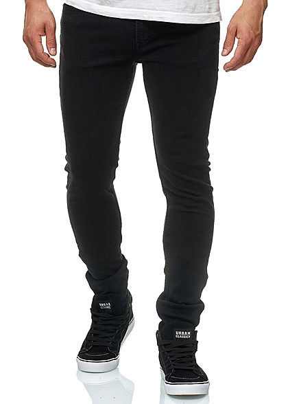 Jack and Jones Herren Jeans Hose Slim Fit 5-Pockets schwarz denim