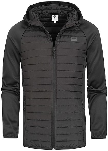 Jack and Jones Herren NOOS Steppjacke Kapuze schwarz