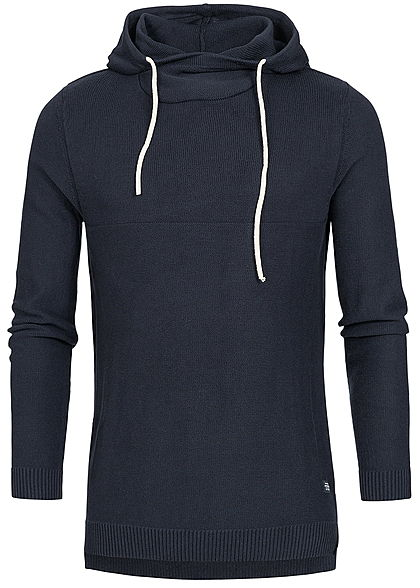 Jack and Jones Herren Hoodie Kapuze total eclipse navy blau